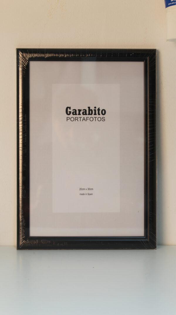 Marco Garabito Negro 20x30