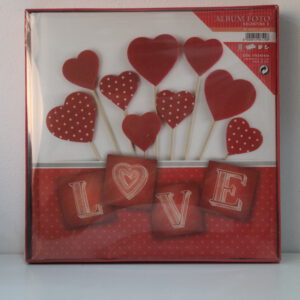 Álbum de cartulina valentine