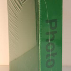 Álbum de fotos básico de color verde