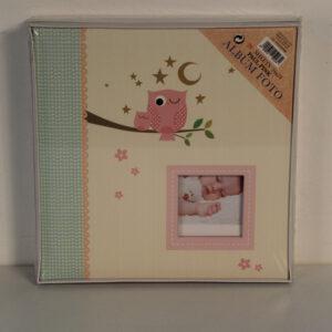Álbum infantil de cartulina Paul Pink